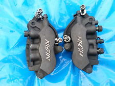 HONDA DEAUVILLE NT 650 FRONT BRAKE CALIPERS AND PADS NISSIN 2002