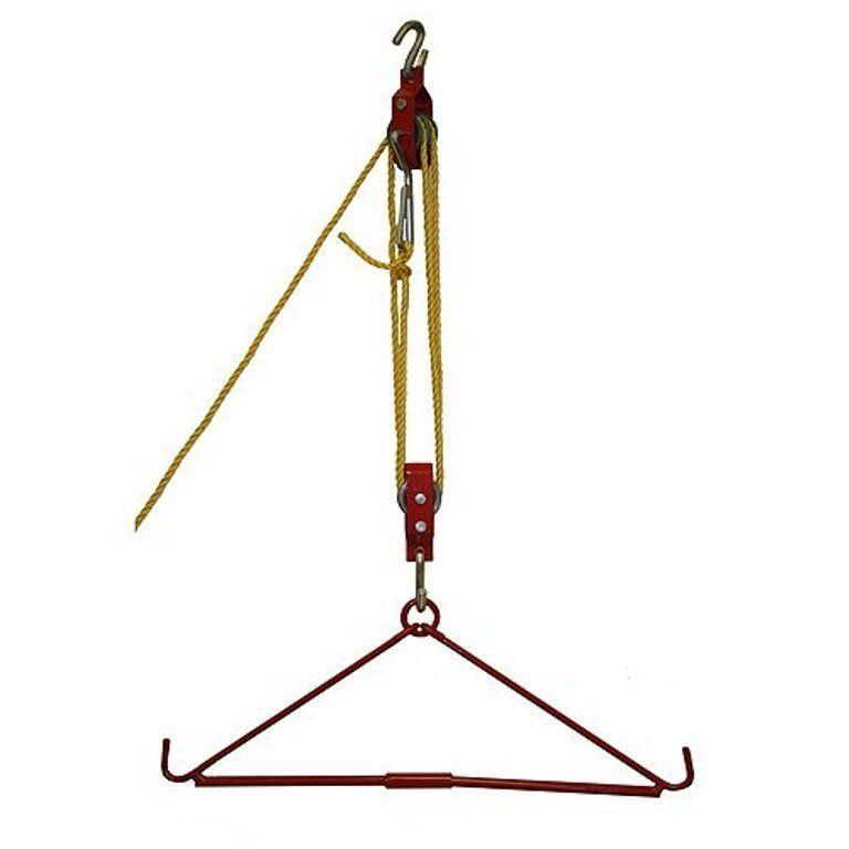 Grip 440 lb Gambrel & Hoist Set Set Set  Deer Hog Game Tree Hanging Gutting Pulleys 88fd14
