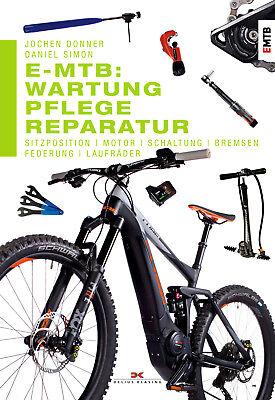 E-mtb Cura Manutenzione Riparazione Impianti Elettrici Mountain Bike Circuito Consigliera Libro- Alta Resilienza