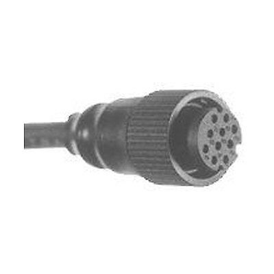 NEW Airmar Furuno 10 pin female connector 1 Meter from Blue Bottle Marine