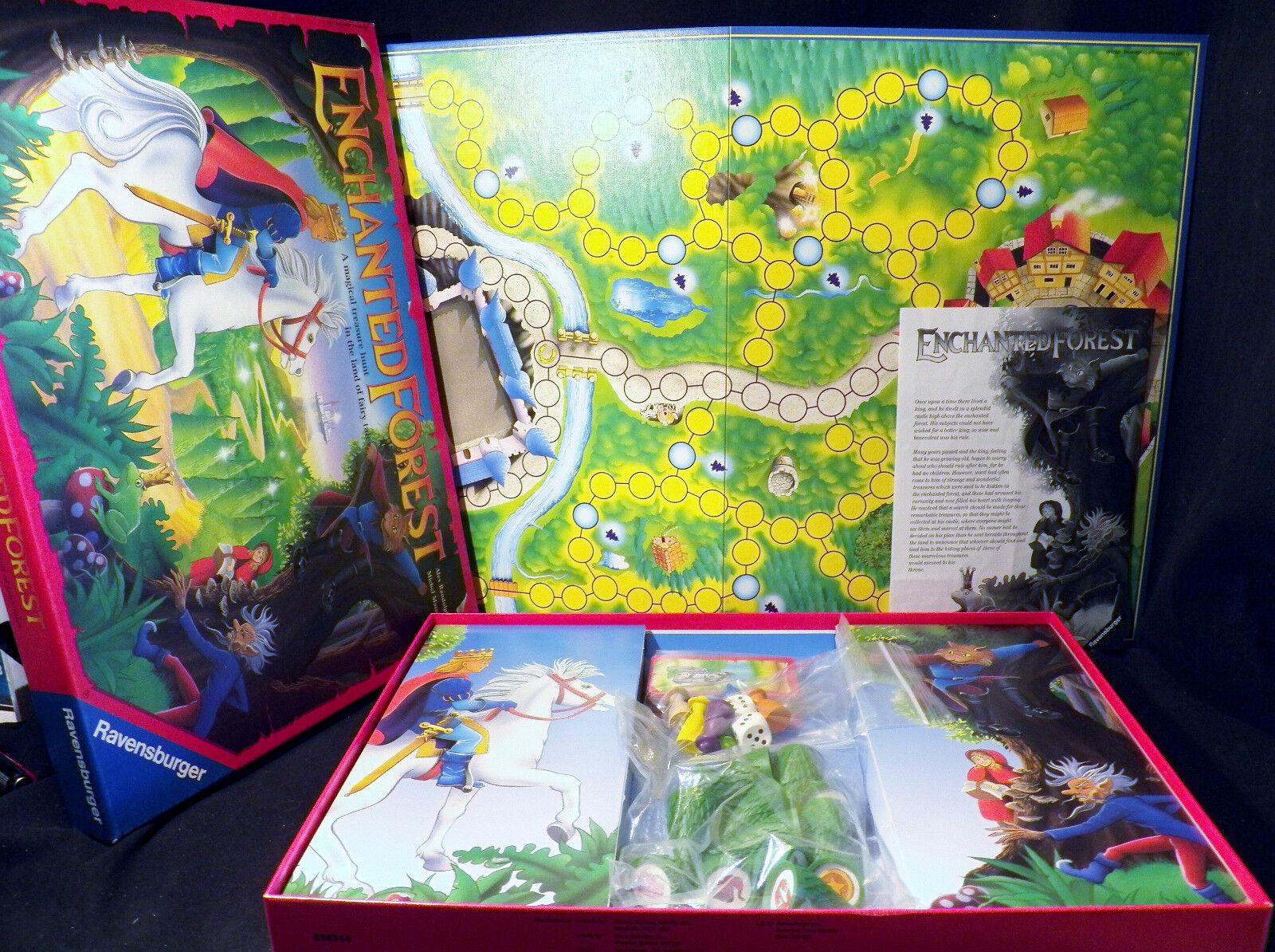 1994 Vintage Enchanted Forest Ravensburger Gioco da Tavolo Famiglia Completo