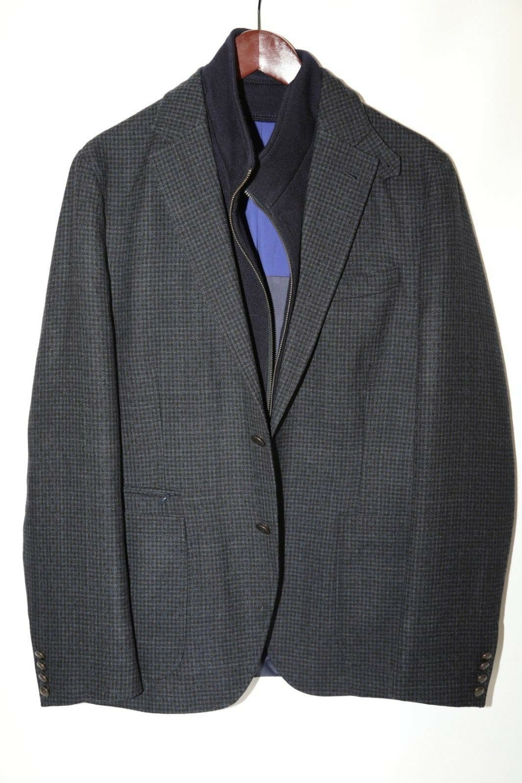 Kroon Jones Hybrid Wool Blazer Sports Coat Size 40 R