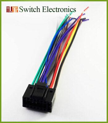 16 Pin JENSEN UV10 Auto Stereo Wiring Harness Cable   eBayeBay
