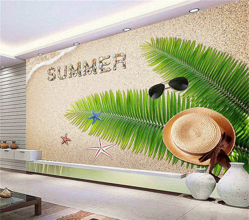 Vague Delicate Leaf 3D Full Wall Mural Photo Wallpaper Printing Home Kids Decor