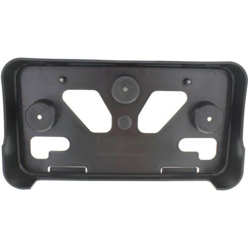 for 2013 Chevrolet Malibu Front License Plate Bracket Black