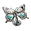 Crystocraft-Butterfly-Ornament-Crystal-Ornament-Swarovski-Elements-Gift-Box thumbnail 8
