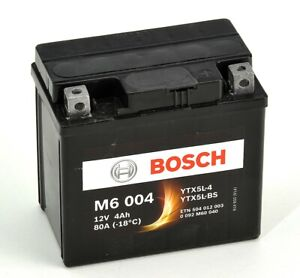 Bosch M6004 Batterie moto YTX5L-BS - 12V AGM 4A/h-30A