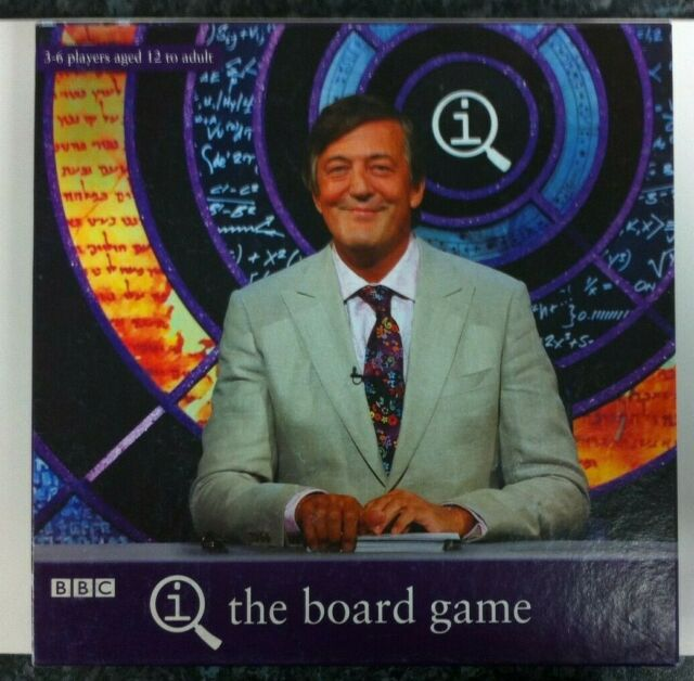 QI The Board Game By Paul Lamond Games Complete With Rules BBC TV Game Show Fun