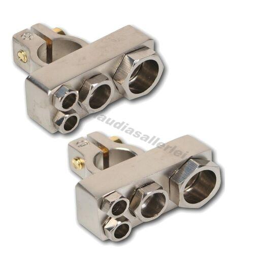 Batterie Anschluß Klemme Plus und Minus mit Verteiler Funktion 1x20qmm 2x 10qmm