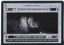 Star Wars CCG Dagobah Limited BB Big One: Asteroid Cave/Space Slug Belly [DS]