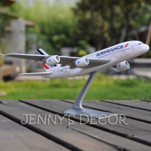 Aerobus Airliner Plane Model 1:250 Airbus A380 Air France Replica Collection