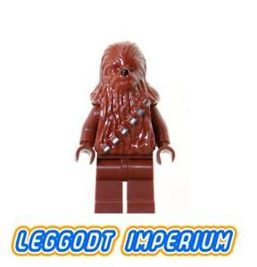 LEGO-Minifigure-Star-Wars-Chewbacca-reddish-brown-version-sw011a-FREE-POST