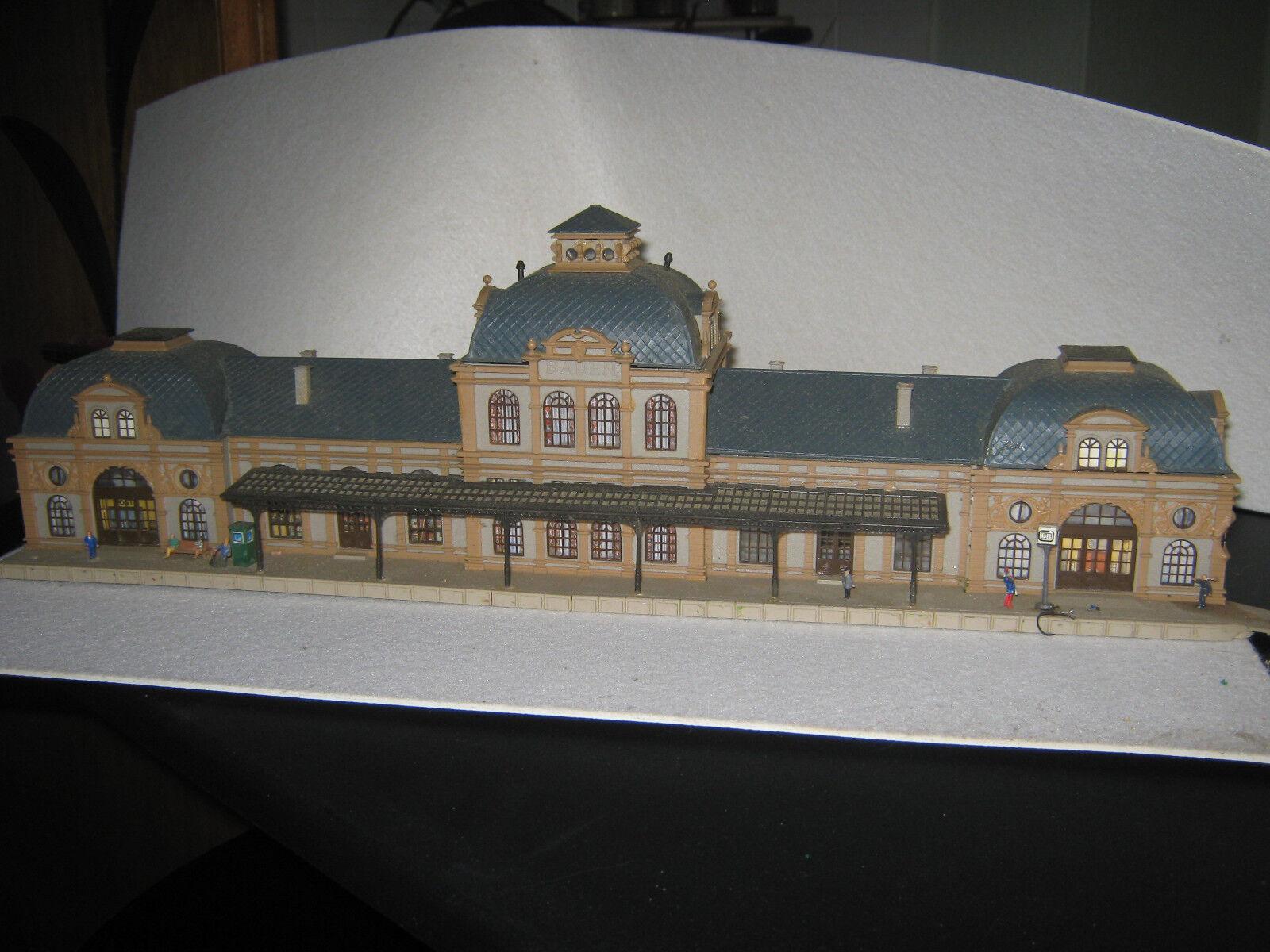 Hauptbahnhof Baden Volmer Spur N,Original zusamSiegebaut