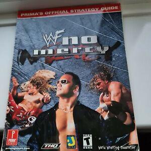 WWF No Mercy guía de estrategia oficial N64 Nintendo 64 caminar a través de