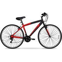 Hybrid Bike Mens 700c Road Bicycle Street Bikes 21 Speed