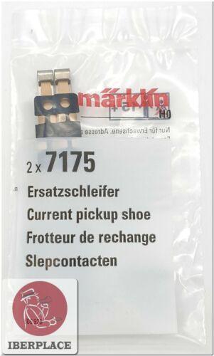 Märklin 7175 H0 escala 1:87 AC trenes 2x Patín de contacto Current pickup shoe