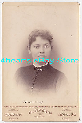 G14-982 Maud Jones, Maud Knapp - Alto, WI ~1887      --- id'd