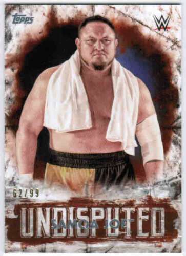 #1-50 U-Pick From List 2018 TOPPS WWE UNDISPUTED BASE ORANGE PARALLEL CARDS