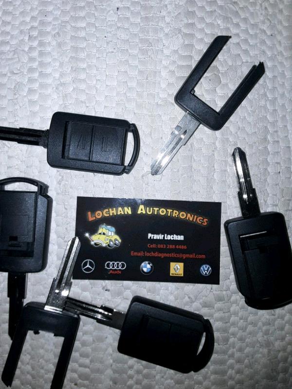Opel Corsa Utility keys