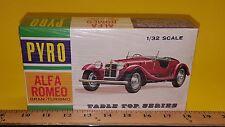 1/32 PYRO TABLE TOP SERIES ALFA ROMEO GRAN TURISMO MODEL KIT SEALED