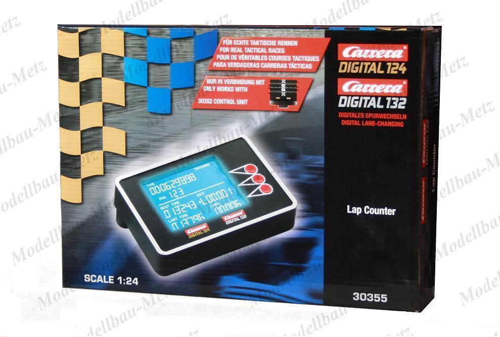 Carrera 30355 Digital 124 132 Lap Counter - New Sealed