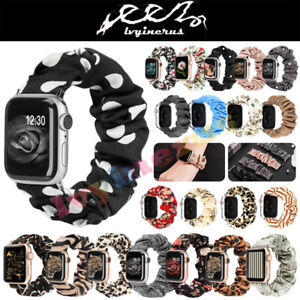 Scrunchie-Soft-Loop-Band-Strap-For-Watch-iWatch-Series-5-4-3-2-1-38-40-42-44MM