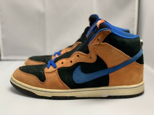Nike SB Dunk High Mets Deep Orange Size 11.5