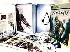 ASSASSINS CREED 1 Limited Collectors Edition •Game & Partial Goodies• Xbox 360