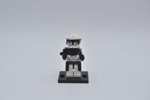 LEGO Figur Minifig Star Wars Clone Commander sw223 Waffen /& Rüstung aus Set 8014