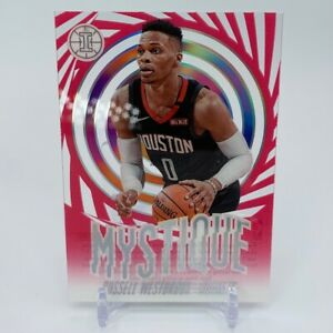 2019-20 Panini Illusions Russell Westbrook Mystique Acetate SP PINK Rockets
