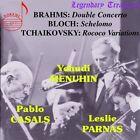 Brahms Double Concerto Block Schelomo Tchaikovsky Rococo Variations CD