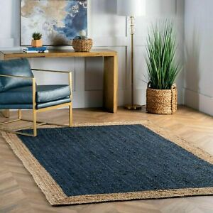 Contemporary-Modern-Simple-Braided-Reversible-Natural-Jute-Hand-Woven-Rug-Carpet