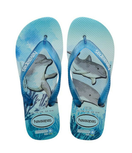 Havaianas Conservation Support the Sea Creatures thong sandals