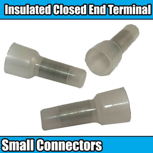 Insulated Closed End Small Connectors Connector Terminals Wire Crimp Electrical