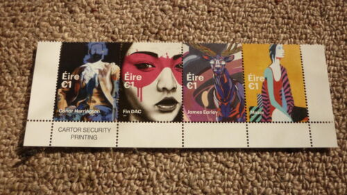 2017 IRELAND POST MINT STAMPS, IRELAND URBAN STREET ART SET OF 4 STAMPS MNH