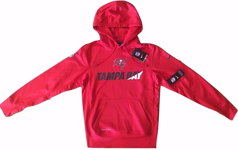 NFL Sweatshirt Hoodie TAMPA BAY BUCCANEERS NIKE NIKE NIKE original Sideline Apparel NEU e110e3