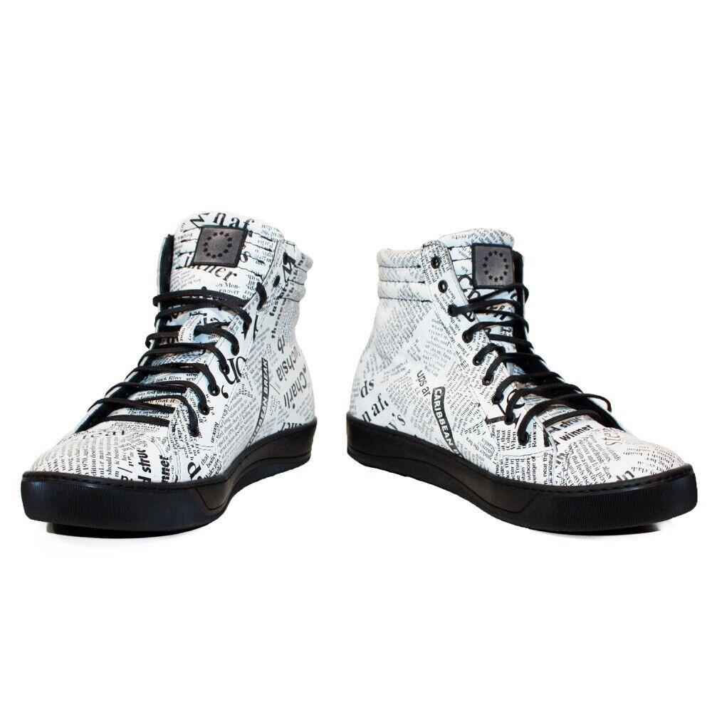 Modello Newserro - Handmade Italian White Fashion Sneakers Casual Shoes - Cowhid