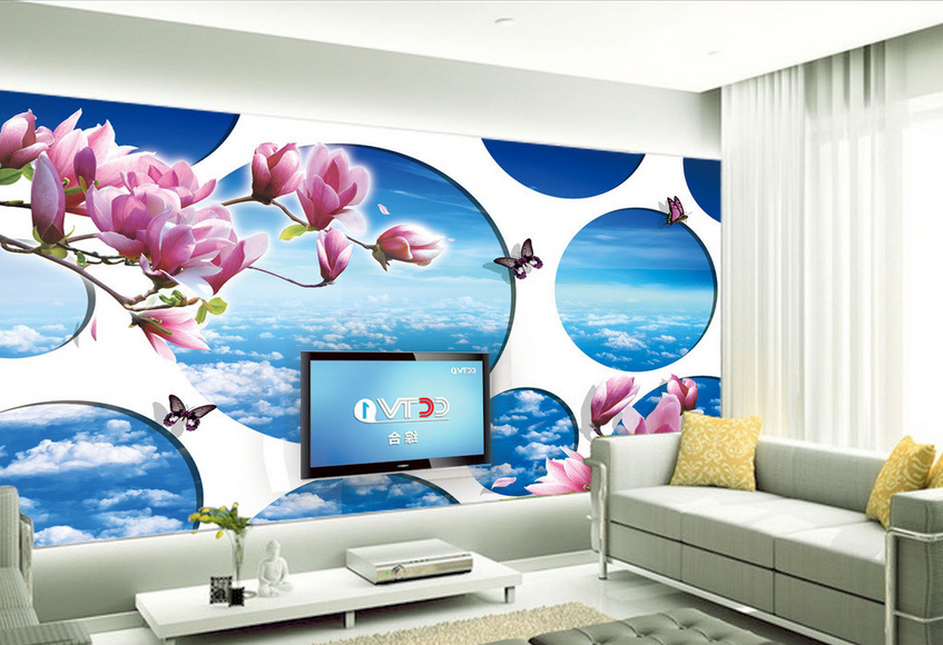 3D Blau Sky Butterfly 649 Paper Wall Print Wall Decal Wall Deco Indoor Murals