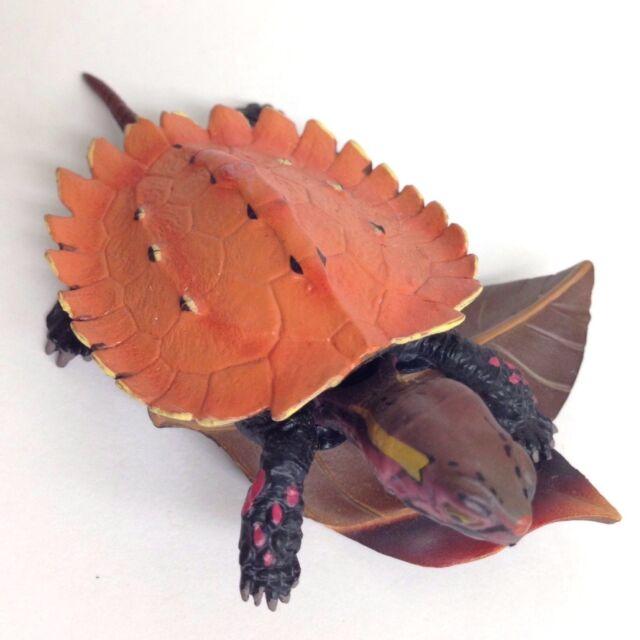 BE-PAL Mini Figure Okinawa Black-breasted Leaf Turtle juvenile Kaiyodo choco egg