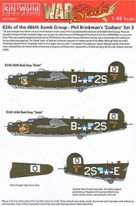 kits-world-1-48-b-24h-Liberator-834th-BS-486th-GRANDES-Phil-brinkman-s-48021