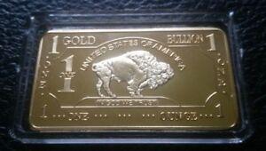 1-OZ-500-Millls-999-Fine-Gold-Buffalo-Bar-Bullion