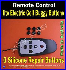 fits-Remote-control-electric-golf-buggy-caddy-6-Repair-Silicone-Buttons