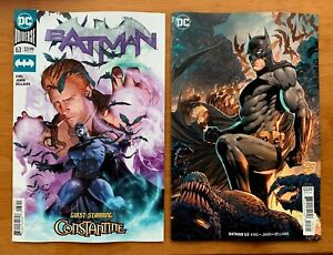 Batman-63-Main-Cover-A-Tony-S-Daniel-Variant-Set-1st-Print-DC-Comics-2019-NM
