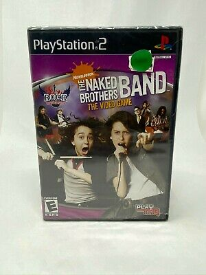 The Naked Brothers Band PlayStation 2 Video Game disc PS2