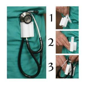 Stethoscope-Holder-Holster-Clip-fits-MDF-Littmann-UltraScope-New-Design