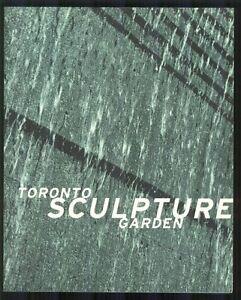 TORONTO-SCULPTURE-GARDEN-Rina-Greer-Exhibitors-ARTISTS-1998-BOOK-Works-of-Art