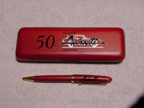 Studebaker Script Rosewood Pen /& Case Laser Engraved