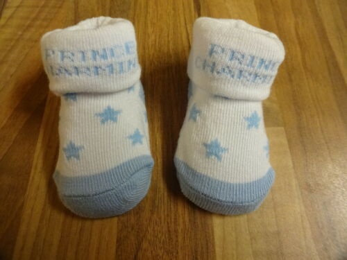 Baby Soft Booties Socks 0-6 Months Grey Blue White Booties Socks Gift New