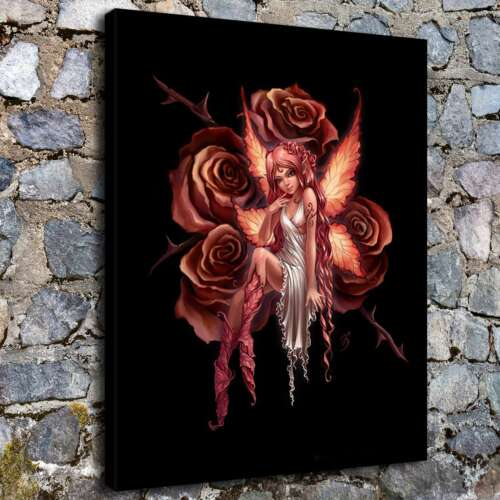 """12/""""x16/""""Rose fairy HD wallpaper Canvas prints Painting Home Decor Wall art Poster"""