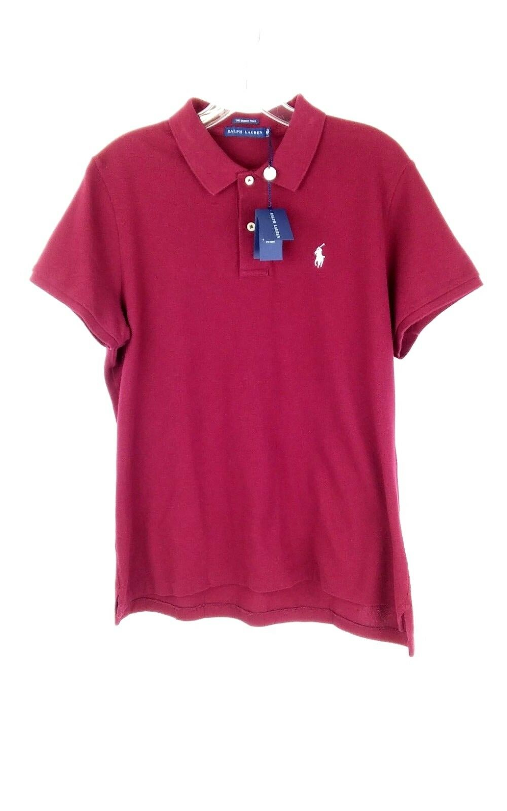 NEW Ralph Lauren Skinny Polo Red Short Sleeve Slze XL